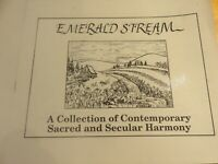 Emerald Stream: A Collection of Sacred and Secular Harmony 21 shape note tunes $3.00