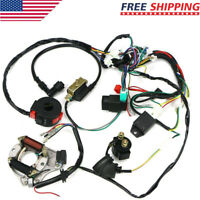 50cc-125cc CDI PIT Wire Harness Stator Assembly Wiring ATV Electric Quad Kit