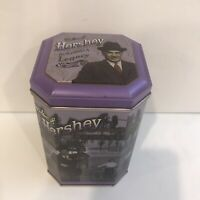 Vtg Hershey Tin 1996 Building a Legacy Canister Milton Hershey's Advertising