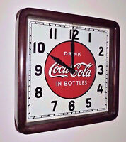 Rare Antique Coca Cola Select advertising Wood Clock Sign quot; Nice quot;