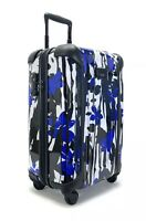 Tumi  International Carry-On Luggage - Blue Floral