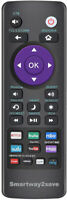 Universal Remote for Roku TV#x27;s TCL LG ONN Sharp Philips Hisense JVC RCA Sanyo $8.99