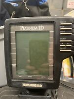 HUMMINBIRD PLATINUM ID 120 FISH DEPTH FINDER
