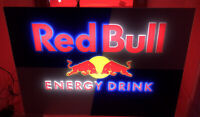 Red Bull  Acrylic LED Lighted Sign 27 1/2