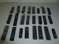 Lot of TWENTY FOUR Television Remote Controls RCA VIZIO Samsung LG Proscan More $89.99