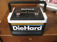 Vintage Die Hard Battery  Cooler