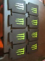 Monster Energy Logo Insulated Koozie Drink/beer Holder - Lot of 8 *Brand New*