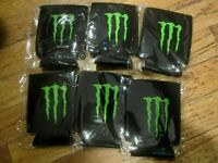 Monster Energy new Logo Koozie Drink/beer Can Holder - Lot of 6