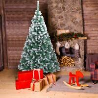 Hot 7Ft Artificial PVC Christmas Tree W/Stand Holiday Season Indoor Outdoor Home