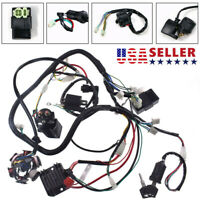 Electric Wiring Harness Magneto Coil Stator Fits For GY6 125cc 150cc ATV