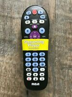 RCA Platinum Pro Universal Remote With Streaming amp; Backlit Keys for 4 devices $8.99