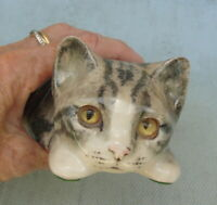 Rare Vintage Winstanley Cat Figurine With Eyes That Follow You