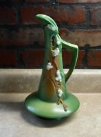 ANTIQUE ROSEVILLE POTTERY EWER OR PITCHER SNOWBERRY PATTERN EXCELLENT
