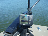 GARMIN 160 BLUE Fish FInder.  Excellent condition!