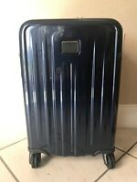 Tumi Eclipse International Expandable 4 Wheeled Carry-on (V4) Luggage Blue