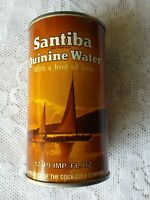 COCA COLA SANTIBA QUININE WATER CAN * SEALED BOTH ENDS NO PULL TAB NEVER FILLED
