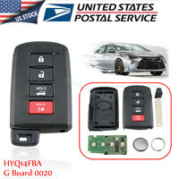 Smart Remote Key Fob for 2012 2013 2014 2015 2016 2017 Toyota Camry HYQ14FBA $78.99
