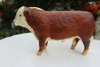 Breyer Molding Co. VTG Special Run Sears Catalog Polled Hereford Bull Red Brown