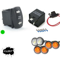 Universal Street Legal Turn Signal System For All UTVs amp; Off Road Cars w 4 amber