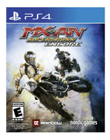 MX vs. ATV Supercross Encore Ps4 PlayStation 4 Game Disc Only 54s Kids