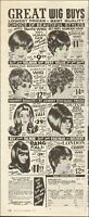 1970#x27;s Vintage ad for Valmor Hair Styles Wig Multiple styles Photo 110320