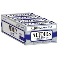 Altoids Arctic Peppermint Mints 1.2 Ounce Tin Pack of 8 NEW