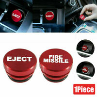 Universal Fire Missile Eject Button Car Cigarette Lighter Cover Accessories 12V $3.99