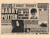 Daily Prophet Harry Potter Defeats He Who Must Not Be Named Flyer Prop Replica