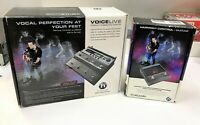 TC Helicon VoiceLive Harmony Correction Effects Pedal w Harmony Control Pedal $399.98