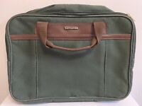 SAMSONITE Vintage 1992 Green Carry On Suitcase Travel Bag Expandable