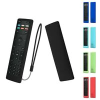 For Vizio XRT136 Smart TV Remote Shockproof Silicone Cover Case With Remote Loop $4.43