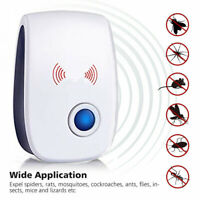 2x Ultrasonic Pest Reject Home Control Electronic Repellent Mice Rat Repeller US $7.55