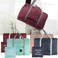 Foldable Portable Travel Luggage Baggage Storage Carry On Duffle Bag Waterpoof