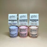 Harmony Gelish Brush On Structure Gel 0.5 fl. oz. Clear Cover Translucent $35.99