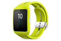 Sony Smart Watch 3 Black lime green NEVER USED DEAD BATTERY $29.99