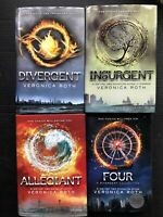 DIVERGENT INSURGENT ALLEGIANT FOUR Hardcover Novels By Veronica Roth
