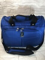 """Travelpro Flight Crew Ocean Blue 14"""" Carry On Travel Tote Bag Airline Crew Bag"""