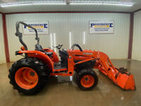 2004 KUBOTA L3130 HST WITH OROPS 4X4 3 PPOINT ARMS PIN ON BUCKET