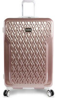 """BEBE Women's Luggage Stella 29"""" Hardside with Spinner Rose Gold One Size"""