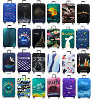 18quot; 32quot; Luggage Case Cover Protective Anti dirty Polyester Suitcase Trolley Bag