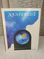 Vintage Aqua World 2 Battery operated With 2 fish included Virtual Fish tank