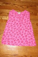 ❤️ Kate Spade Girls Pink with Red Heart Sleeveless Top Shirt; Size 14Y 164