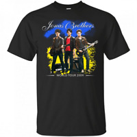 Jonas Brothers World Tour Vintage Brothers Friends Tour T shirt