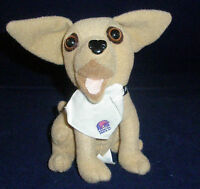 Hungry Chihuahua Taco Bell Talking Dog Plush Dogs Chihuahuas Collection EUC