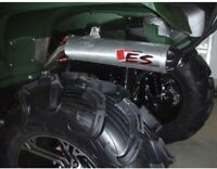 Big Gun ECO Series Slip On Exhaust for Yamaha Grizzly Kodiak 450 550 700 2007-15
