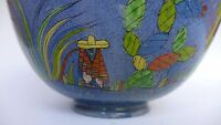 Vintage Mexican Tlaquepaque tourist pottery bowl 10