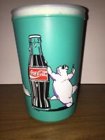 VINTAGE Coke-Cola Polar Bear Freezer Mug Cup