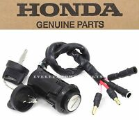 New Genuine Honda Ignition Key Switch 1990-2000 TRX300 TRX300FW Shaft OEM #F65