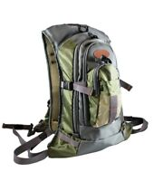 Fly Fishing Backpack Chest Pack Combo Set -2 packs, w/ 1 Free Fly Box