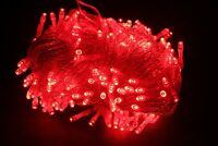Red Valentine Lights 200 LED String Bulbs Indoor Outdoor Holiday Decoration Xmas